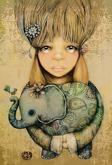 elephant child by © Karin Taylor