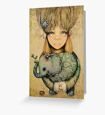 elephant child Greeting Card