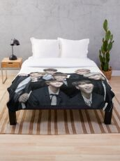 Bts Throw Blanket