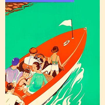 Conch Republic Boat  by vintagekeywest