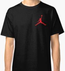 Jordan logo tee (red) Classic T-Shirt