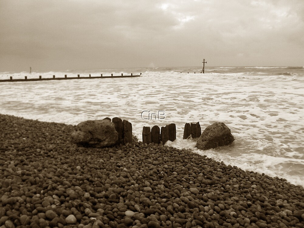 Incoming Tide by CinB