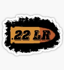 22 LR ammo can AR 15 label rifle bullet box Sticker