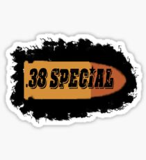 38 special ammo can label pistol bullet box Sticker