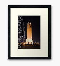 Jones Beach. Framed Print