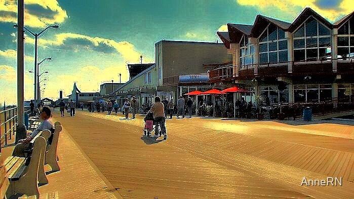 Asbury Park, NJ - The Boardwalk by AnneRN