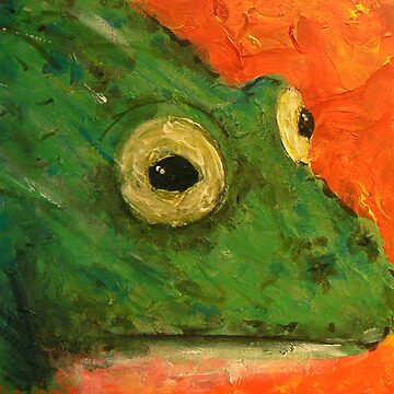 Canvas Frog by CannedKitty
