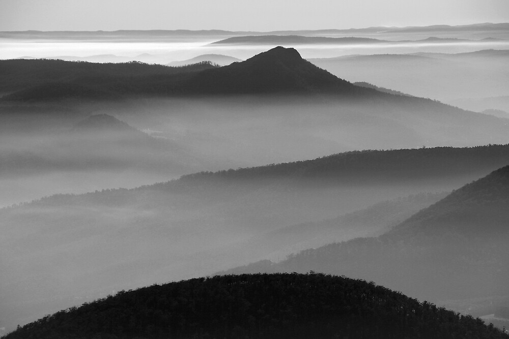 View from Mt Wellington by Ian Robertson