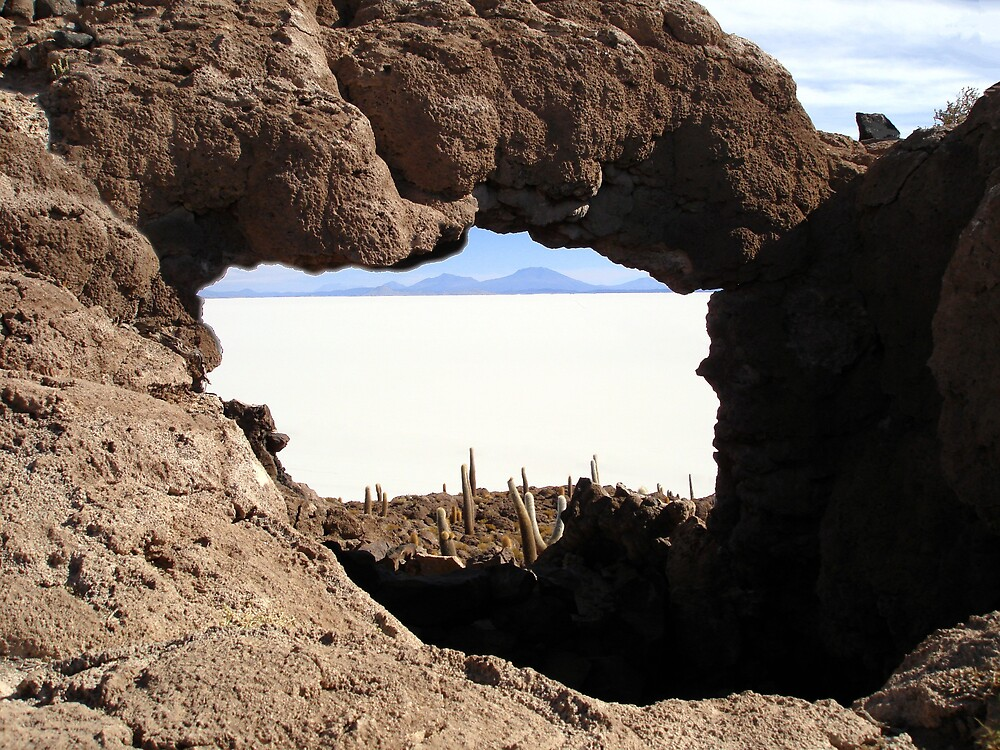 ROCK ARCH VIEW by caribesan1