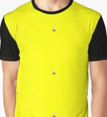 OOC Bumblebee Tiled Graphic T-Shirt