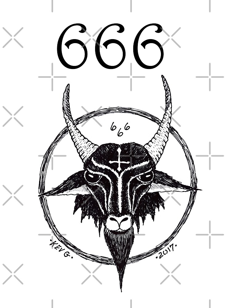 666 THE BEAST - Art By Kev G by ArtByKevG