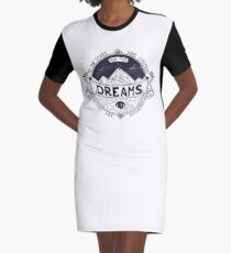 ACOMAF Inspired Graphic T-Shirt Dress