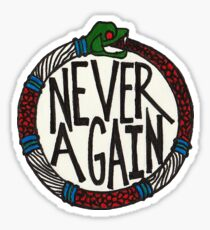 never again / scully / the x files  Sticker