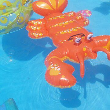Lobster swim by thepatternroom