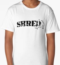 snowboard shred Long T-Shirt