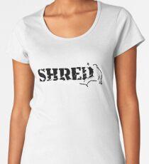 snowboard shred Women's Premium T-Shirt