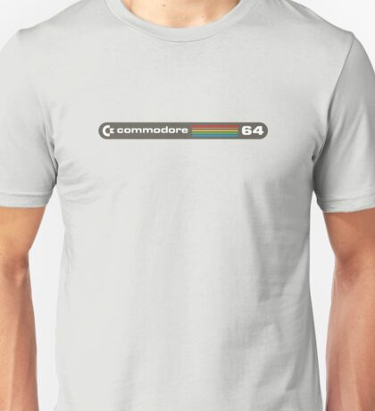 Commodore 64 Eighties 8 Bit Computer Logo T-shirt