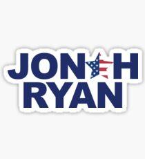 Jonah Ryan para el Congreso de los Estados Unidos Pegatina