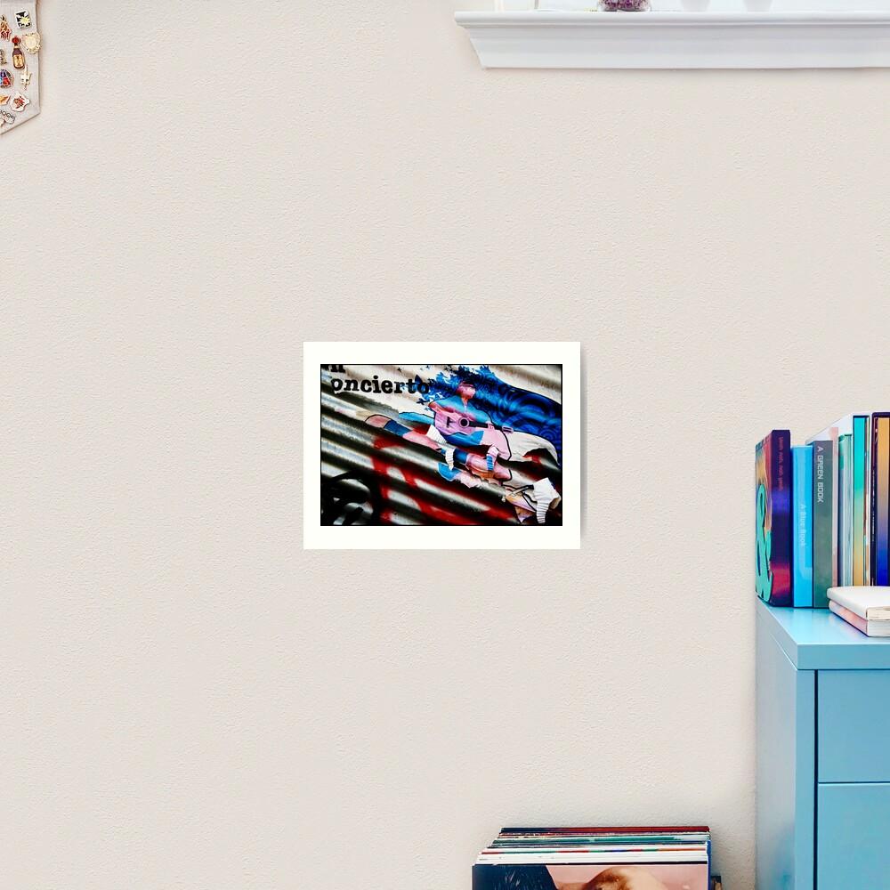 Concierto Art Print