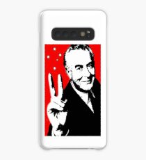 Gough instead of che, white on red Case/Skin for Samsung Galaxy