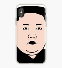 Kim Jong Un Silhouette iPhone Case