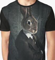 Fashion Rabbit Graphic T-Shirt