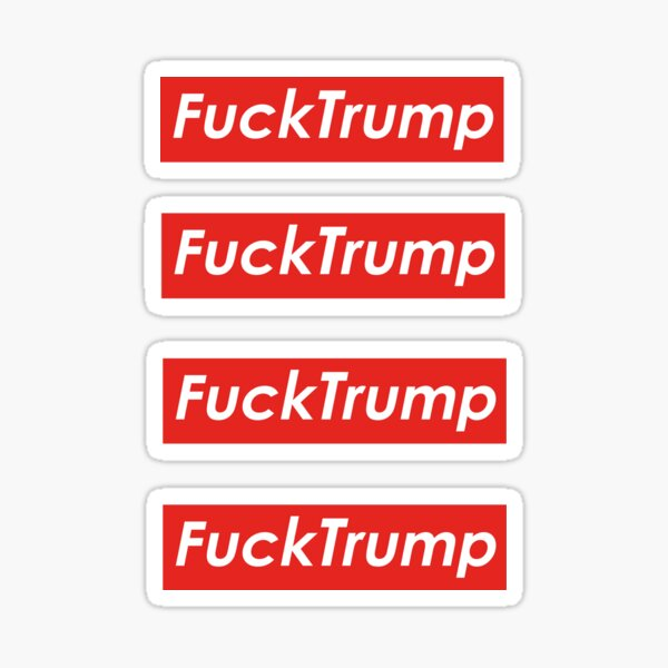 Fuck Trump Sticker