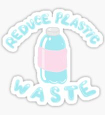 Reduce Plastic Waste Sticker