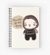 Motivation Spiral Notebook