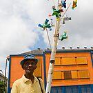 Pinwheels man by Nando MacHado