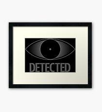 Skyrim Detected Framed Print