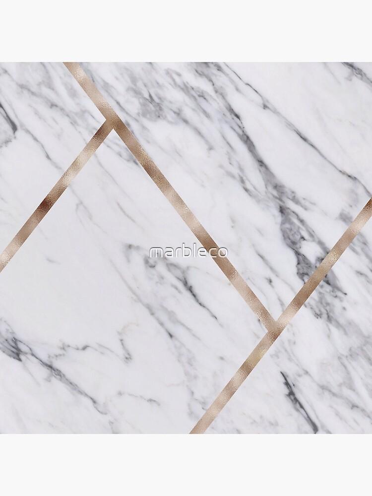 Rose Golden marble clásico de marbleco