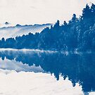 Lake Matheson Blueprint. by VanOostrum