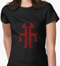 Titan (red) Womens Fitted T-Shirt