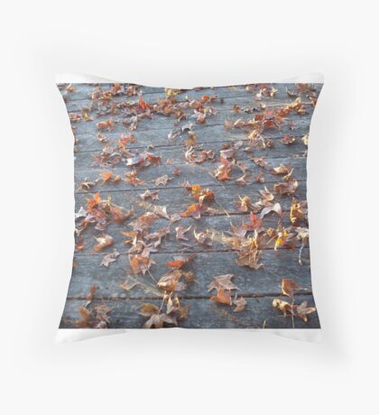 """This is why they call """"Autumn"""", """"Fall""""! Throw Pillow"""