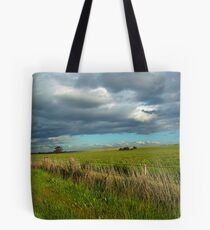I think I can smell the rain on the grass Tote Bag