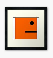 Galaxy Cube Mobile Game Framed Print