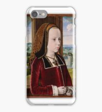 Margaret of Austria ,Jean Hey (called Master of Moulins) iPhone Case/Skin