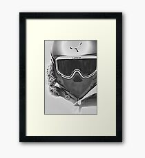 Time for the mountain... Framed Print