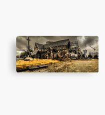 Christchurch Carnage Canvas Print