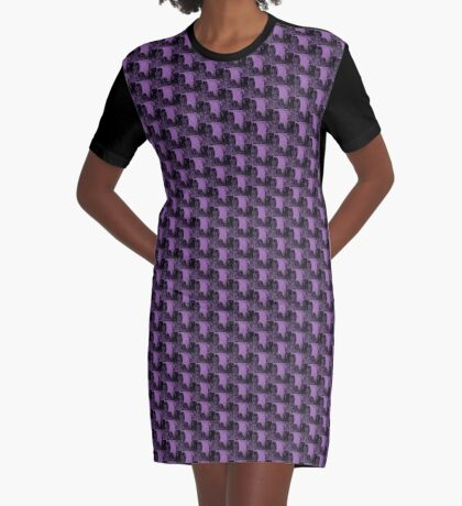 Karma in Lilac Graphic T-Shirt Dress