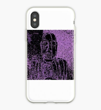 Karma in Lilac iPhone Case