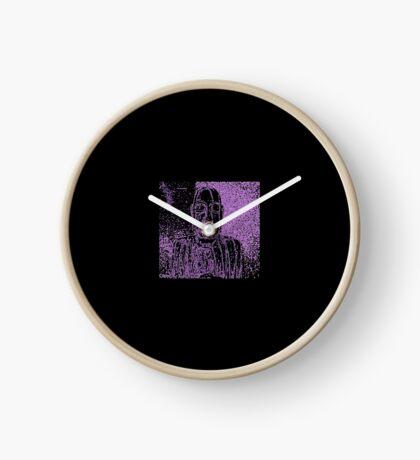 Karma in Lilac Clock
