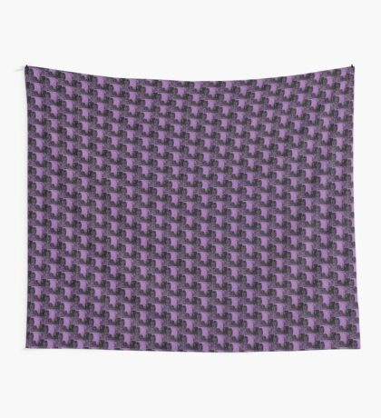Karma in Lilac Wall Tapestry