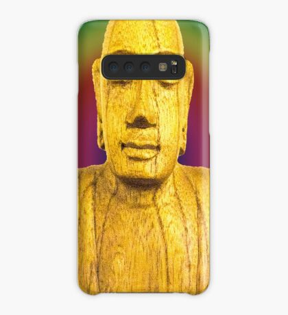 Wooden Budha  Case/Skin for Samsung Galaxy