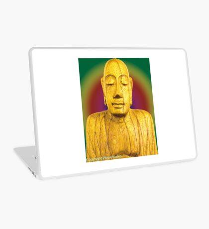 Wooden Budha  Laptop Skin