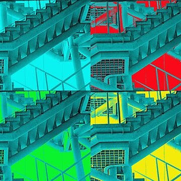 4 stairs of colour from the Kettrin'Kollection  by bywhacky