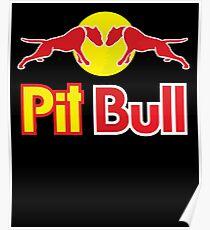 PIT BULL T Shirt Gifts for Pit Bull Lover Poster