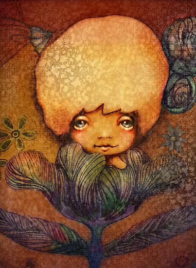Flower of Antiquity - Hope by Karin Taylor