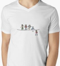 Stranger Things: The Acrobats and the Fleas Men's V-Neck T-Shirt